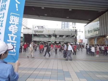 京橋女性宣伝全体像